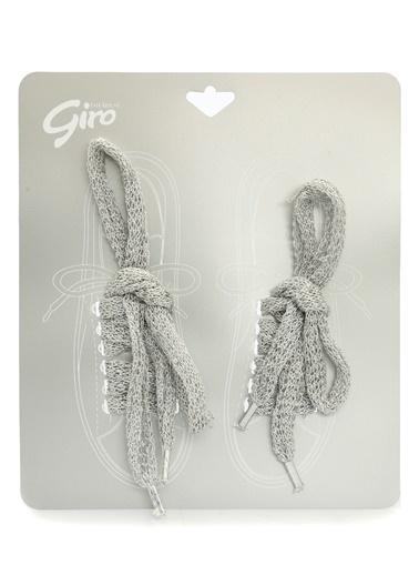 Divarese Ayakkabı Bağı Gümüş